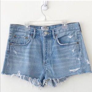 AGOLDE Denim Cutoff Shorts